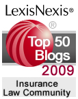 LexisNexis Insurance Law Community 2009 Top Blog of the Year